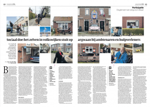 Artikel Volkskrant 23-04-2016